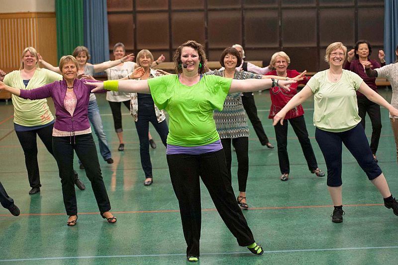 Line-Dance und Solo-Dance