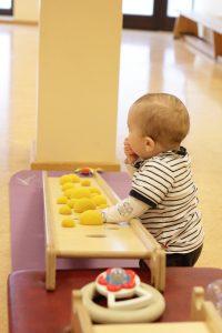 Babyturnen mit den Windelakrobaten